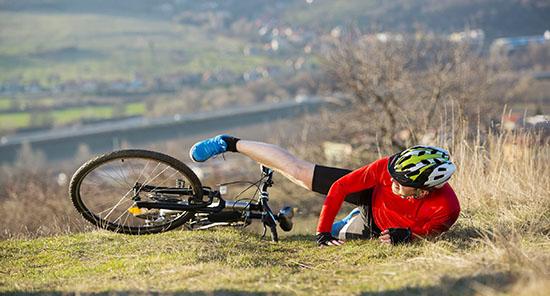 רוכב אופניים נפצע